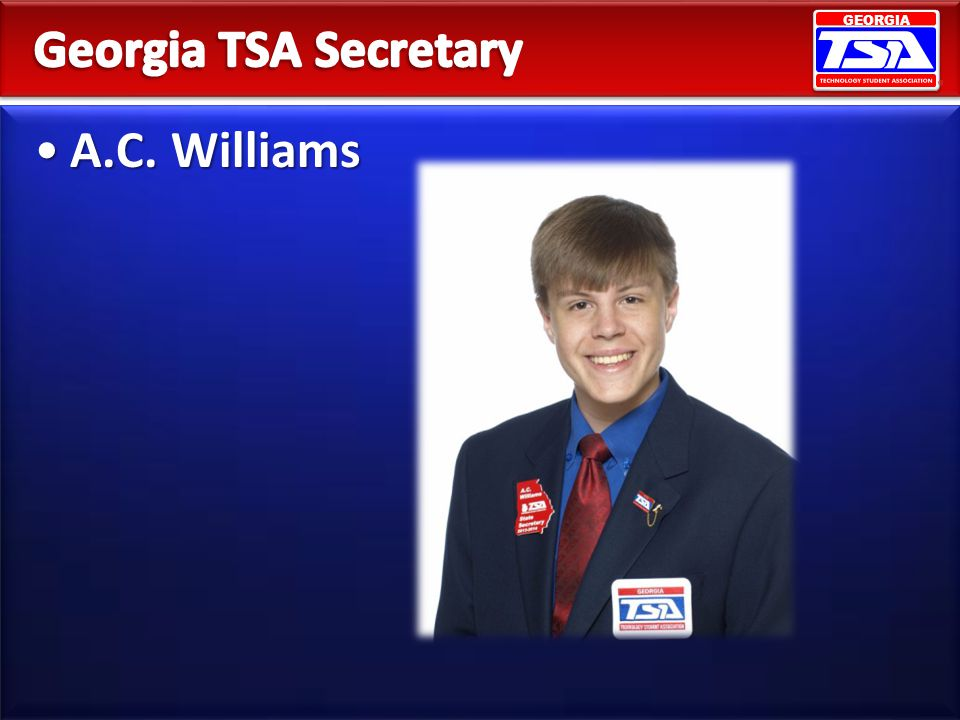 Georgia TSA Secretary A.C. Williams