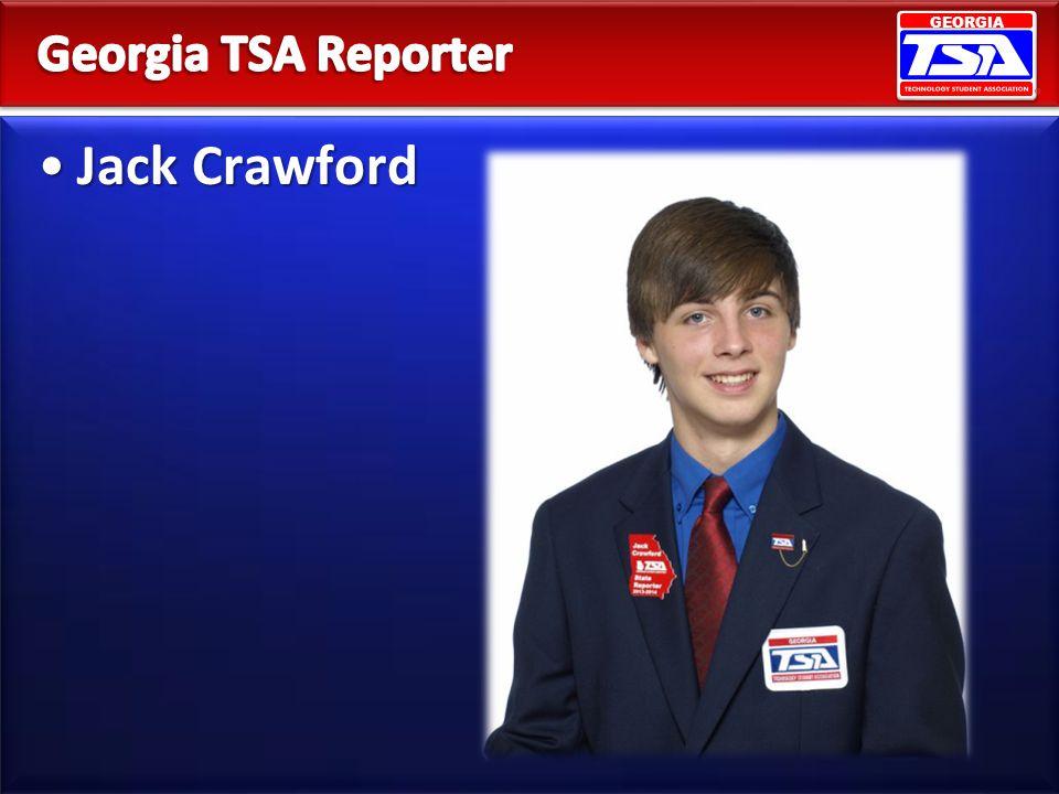 Georgia TSA Reporter Jack Crawford