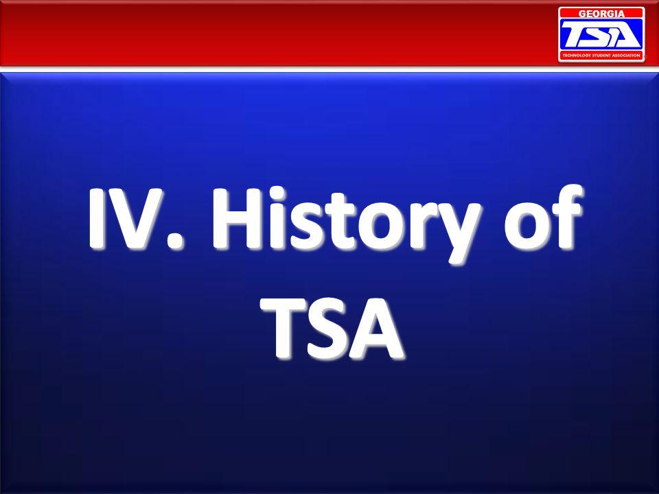 IV. History of TSA