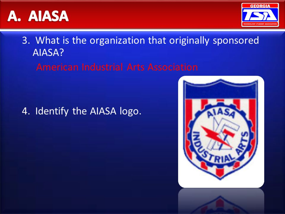A. AIASA 3. What is the organization that originally sponsored AIASA