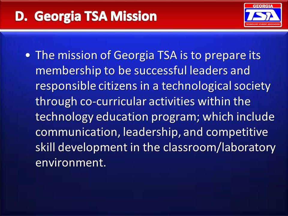 D. Georgia TSA Mission