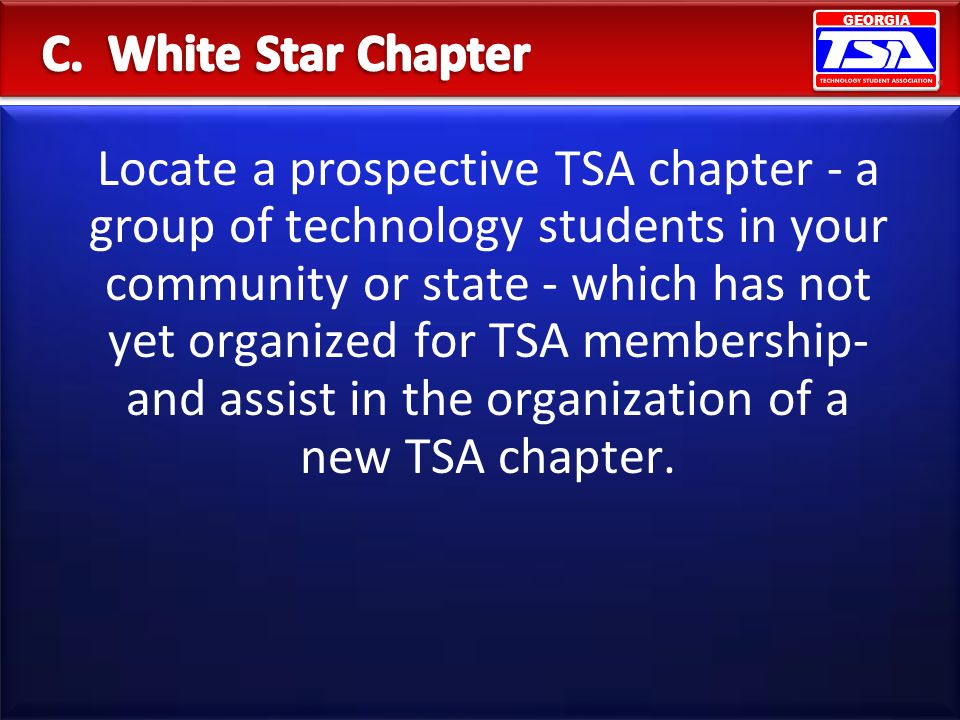 C. White Star Chapter