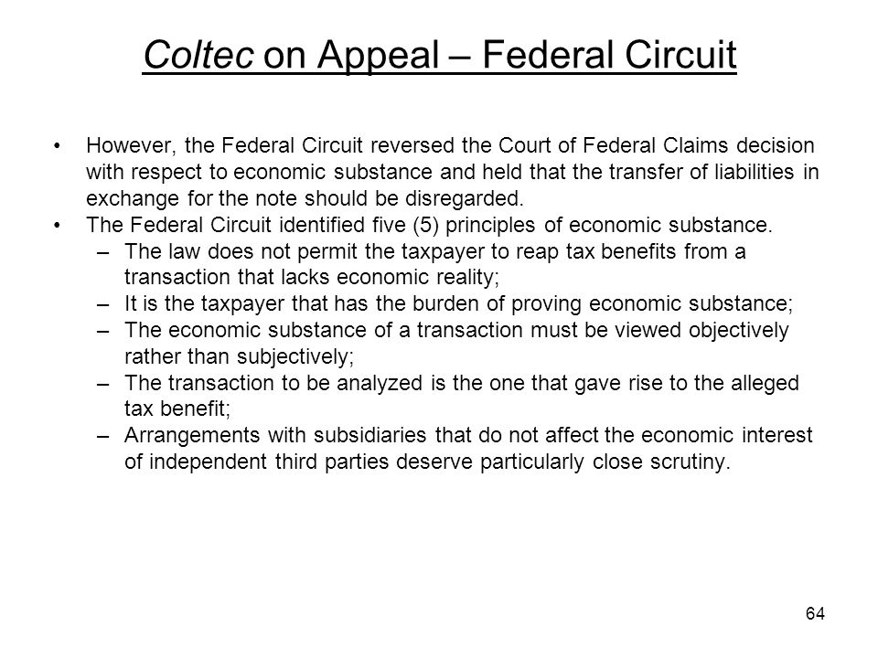 Coltec on Appeal – Federal Circuit