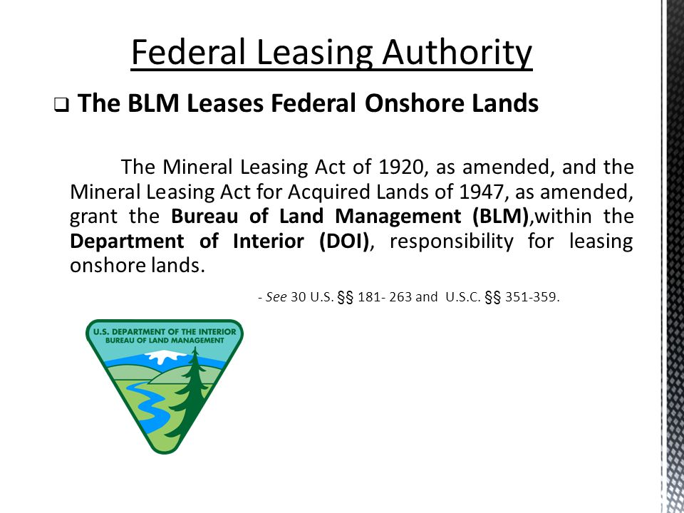 Federal Leasing Authority
