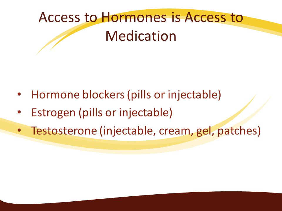 Access to Hormones is Access to Medication