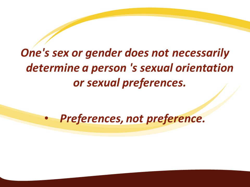 Preferences, not preference.