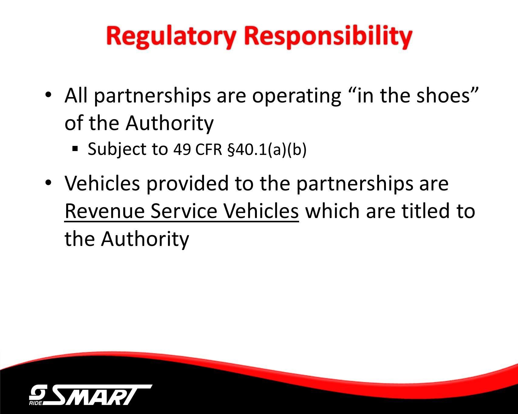 Regulatory Responsibility