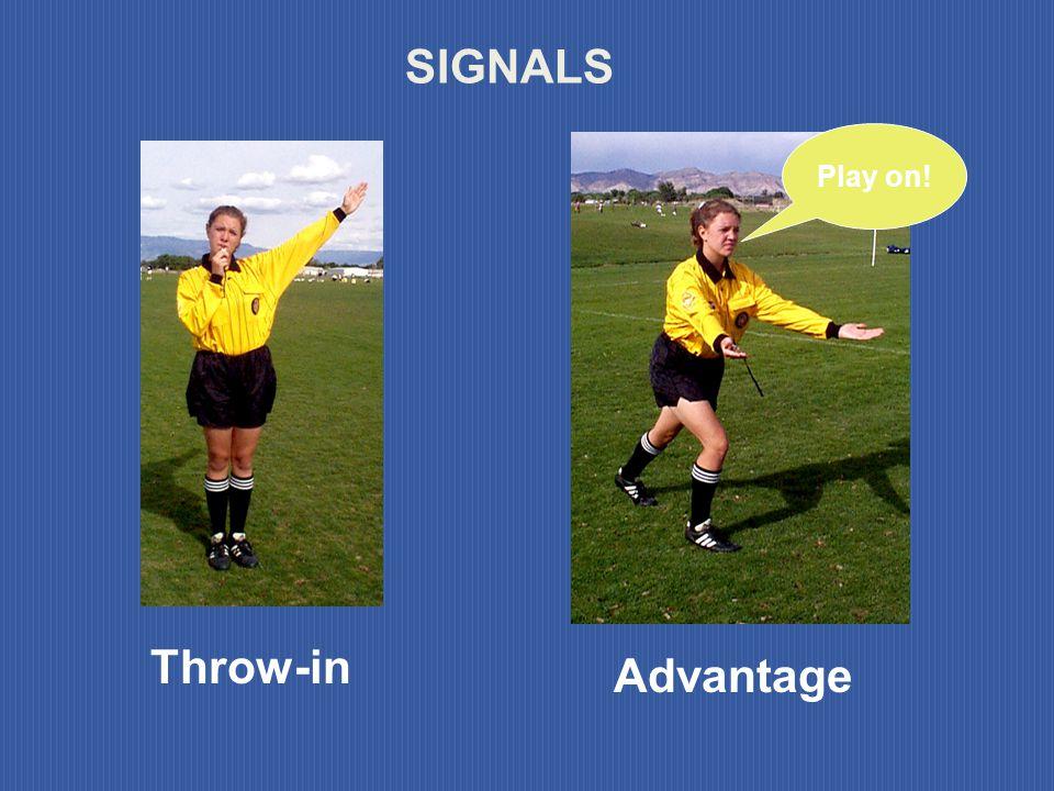 SIGNALS Advantage Throw-in