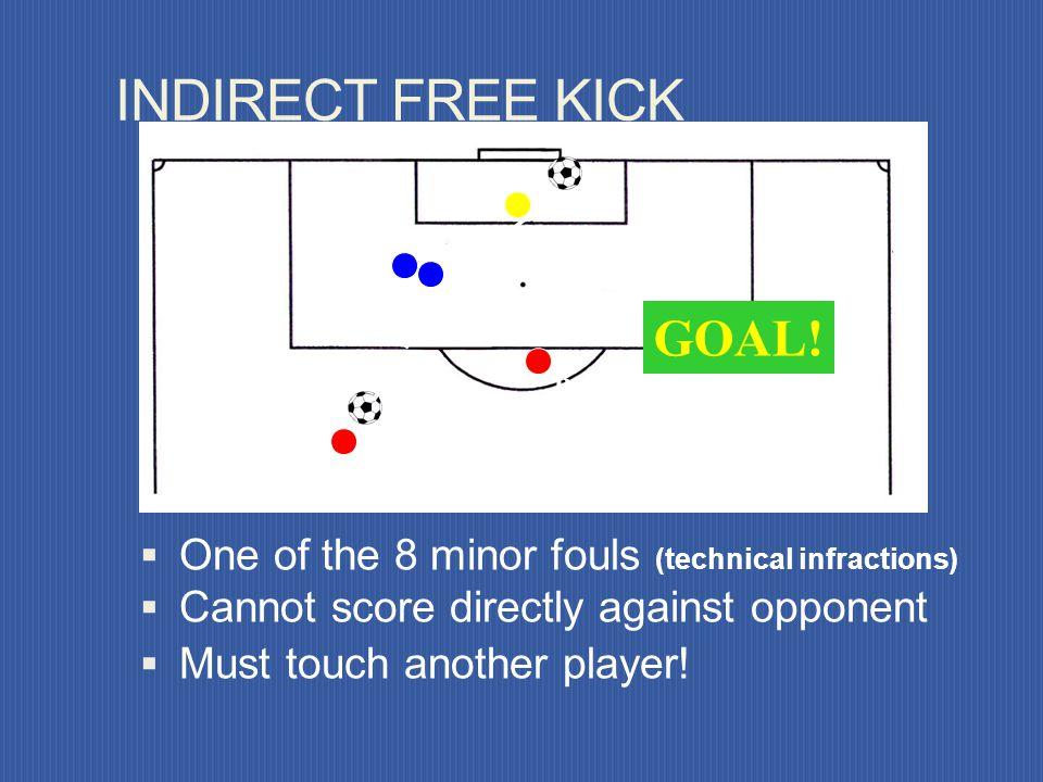 INDIRECT FREE KICK GOAL!