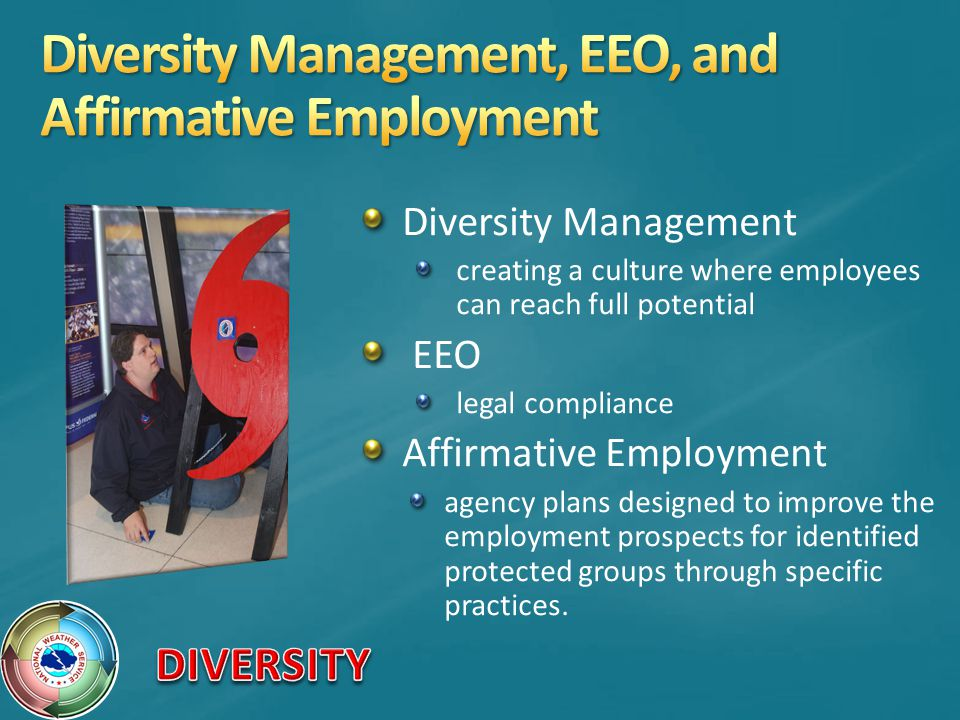 Diversity Management, EEO, and Affirmative Employment