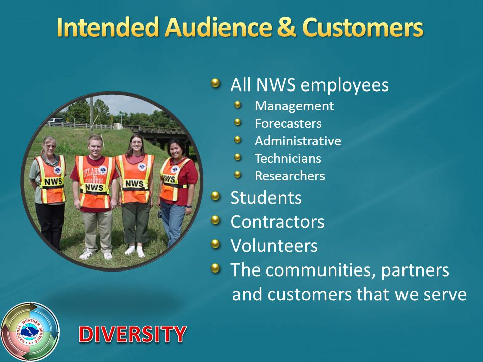 Intended Audience & Customers