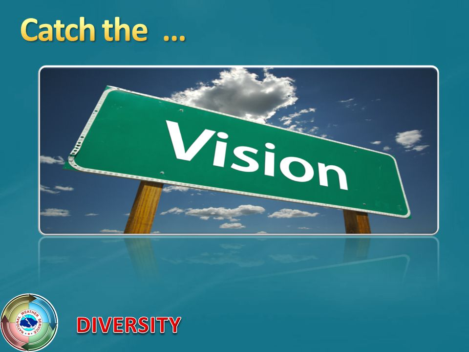 Catch the … Catch the vision!