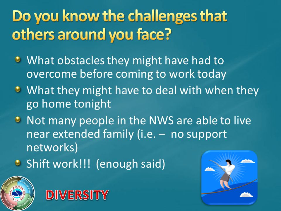 Do you know the challenges that others around you face