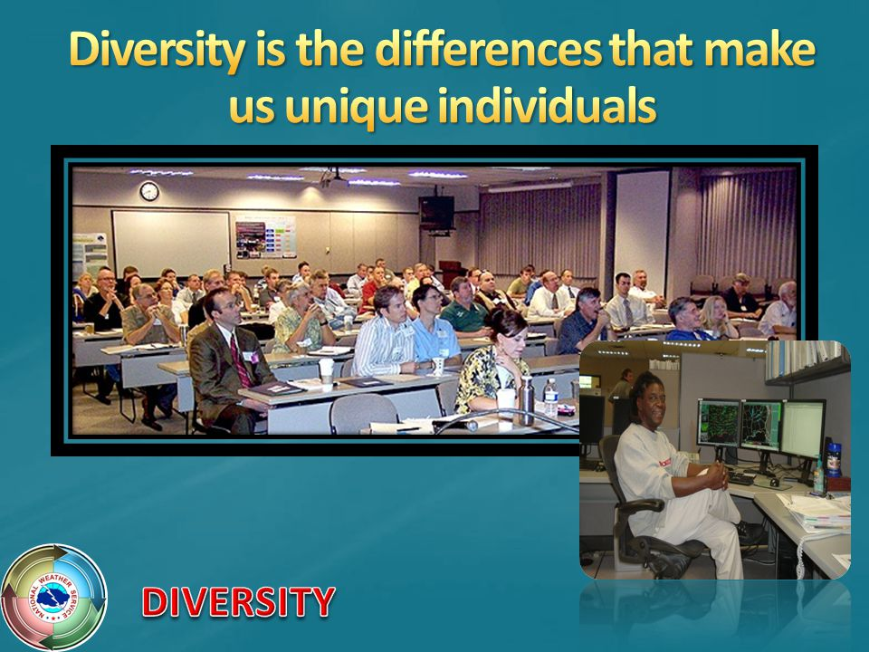 Diversity is the differences that make us unique individuals