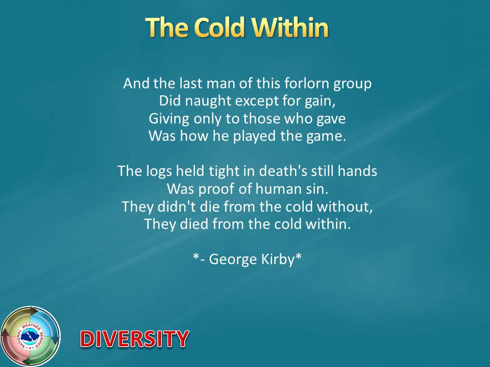 The Cold Within