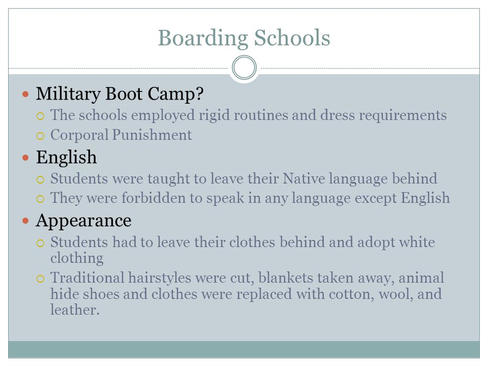 Boarding Schools Military Boot Camp English Appearance