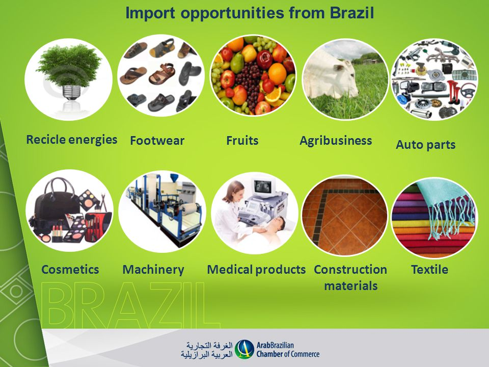 Import opportunities from Brazil Construction materials