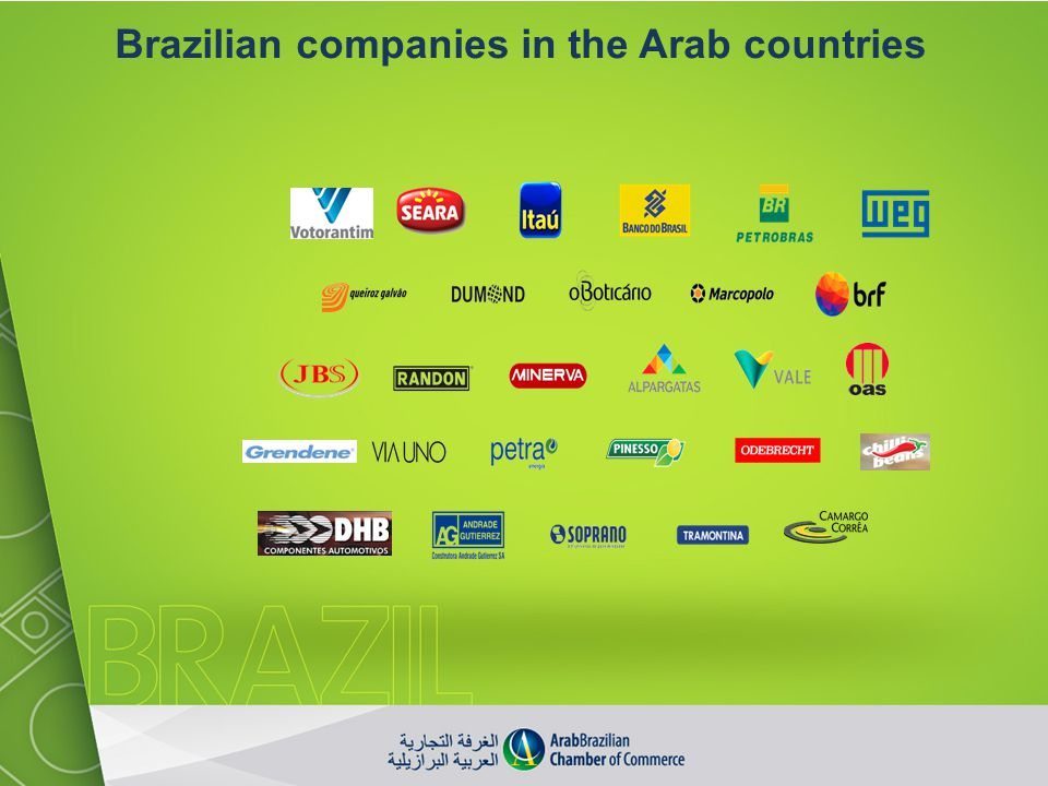 Brazilian companies in the Arab countries