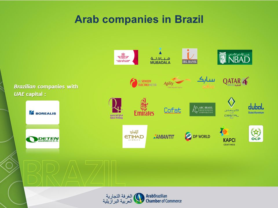 Arab companies in Brazil