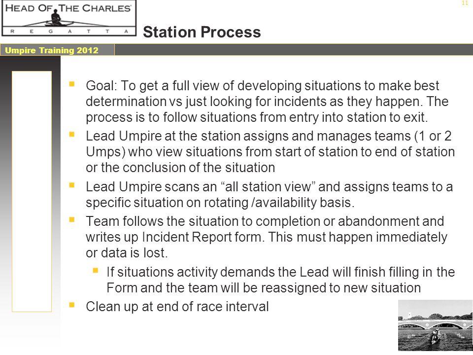 Station Process
