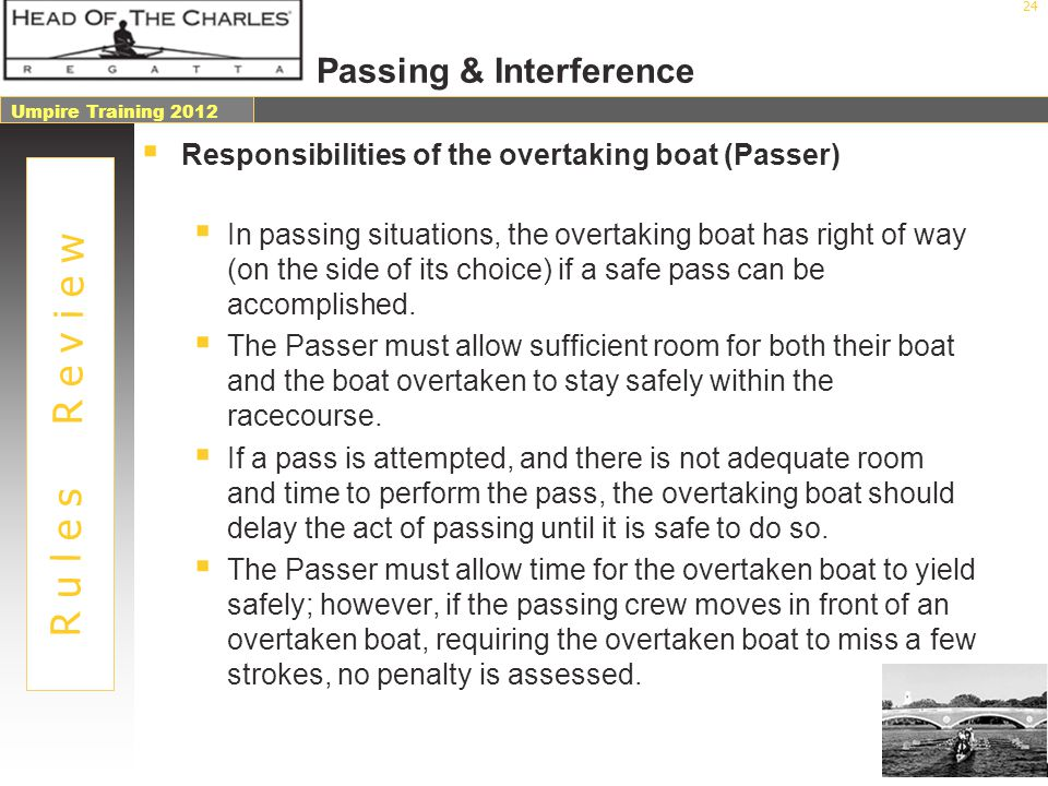 Passing & Interference