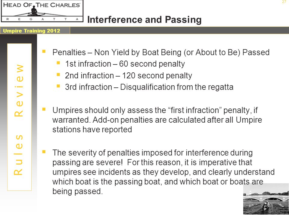 Interference and Passing