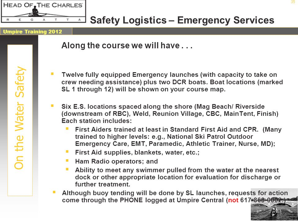 Safety Logistics – Emergency Services