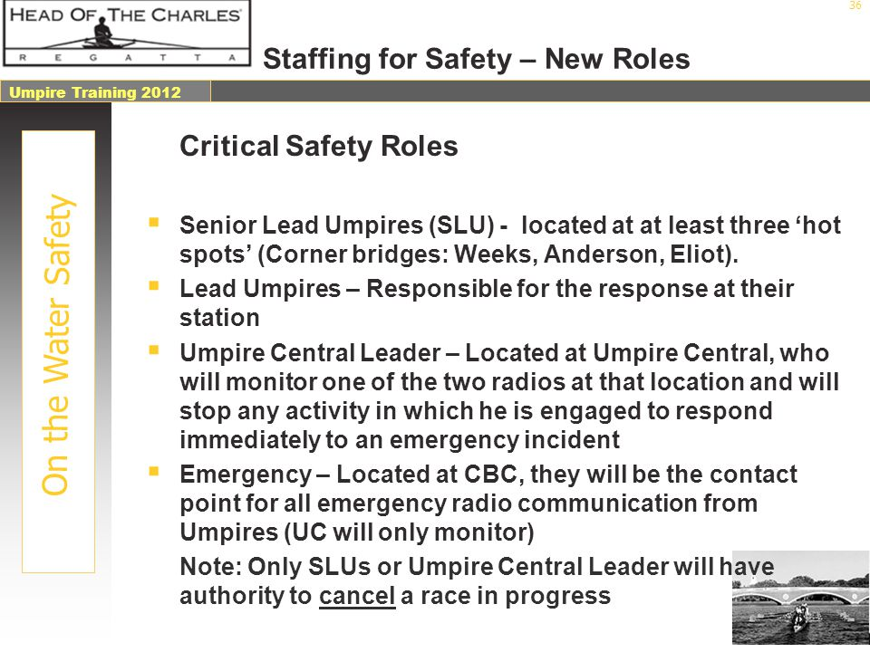 Staffing for Safety – New Roles