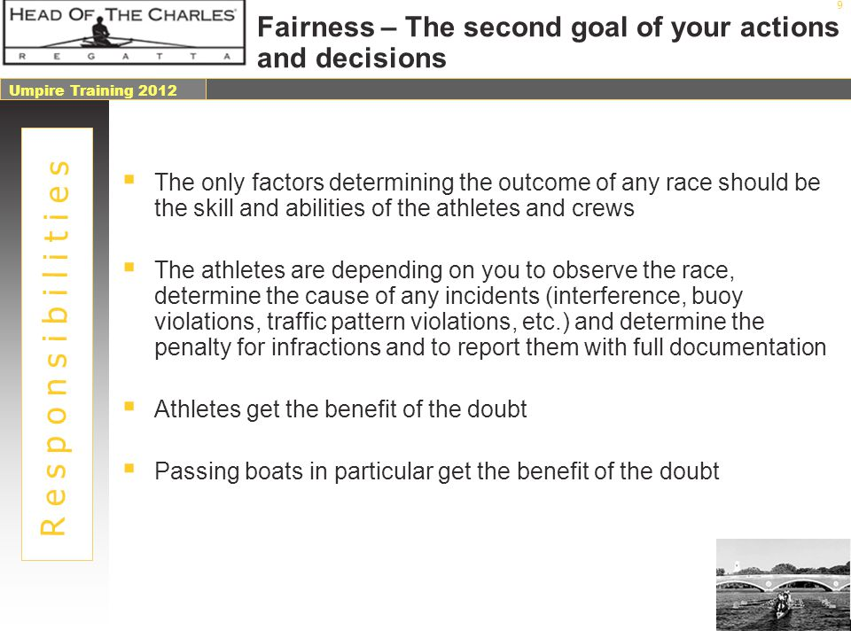 Fairness – The second goal of your actions and decisions