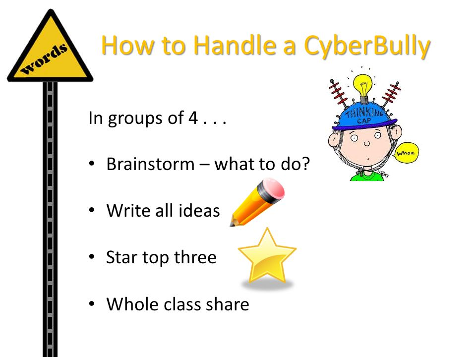 How to Handle a CyberBully