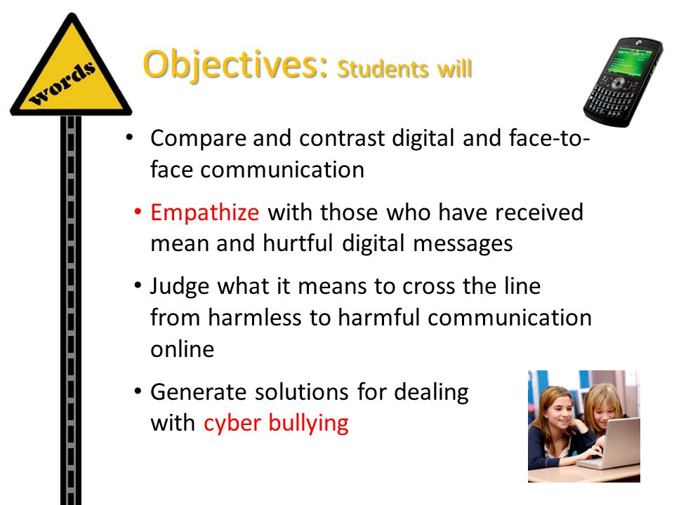 Objectives: Students will