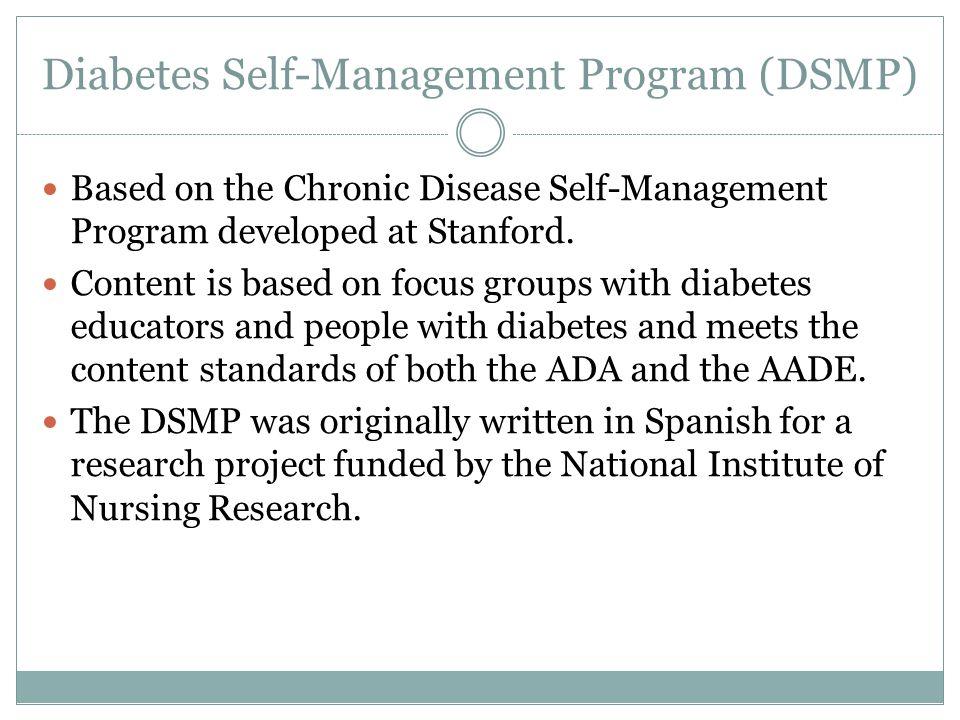 Diabetes Self-Management Program (DSMP)