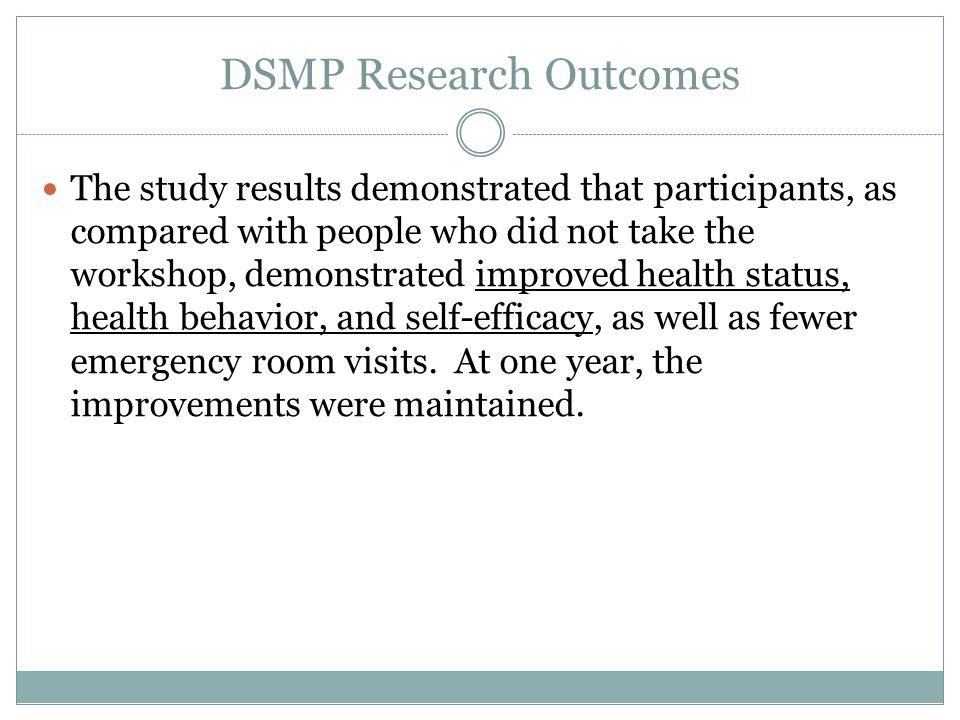 DSMP Research Outcomes
