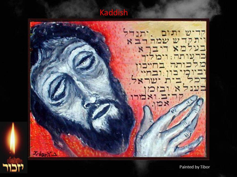 Kaddish Painted by Tibor Spitz