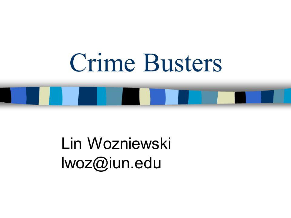Lin Wozniewski lwoz@iun.edu
