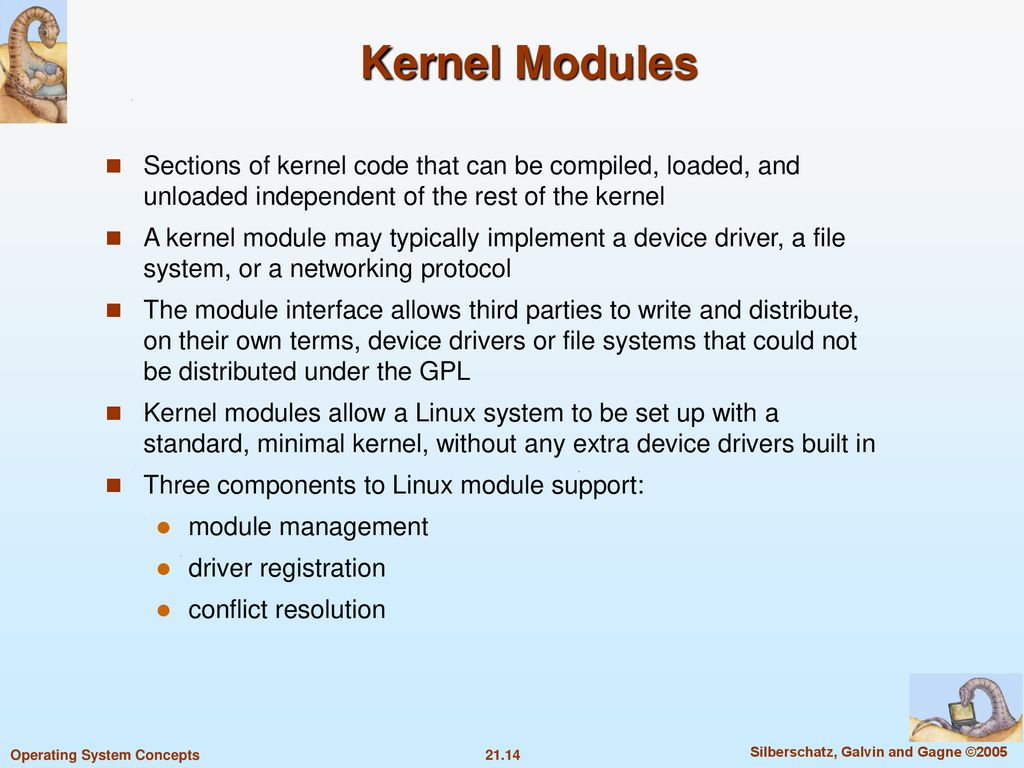 Chapter 21: The Linux System - ppt download