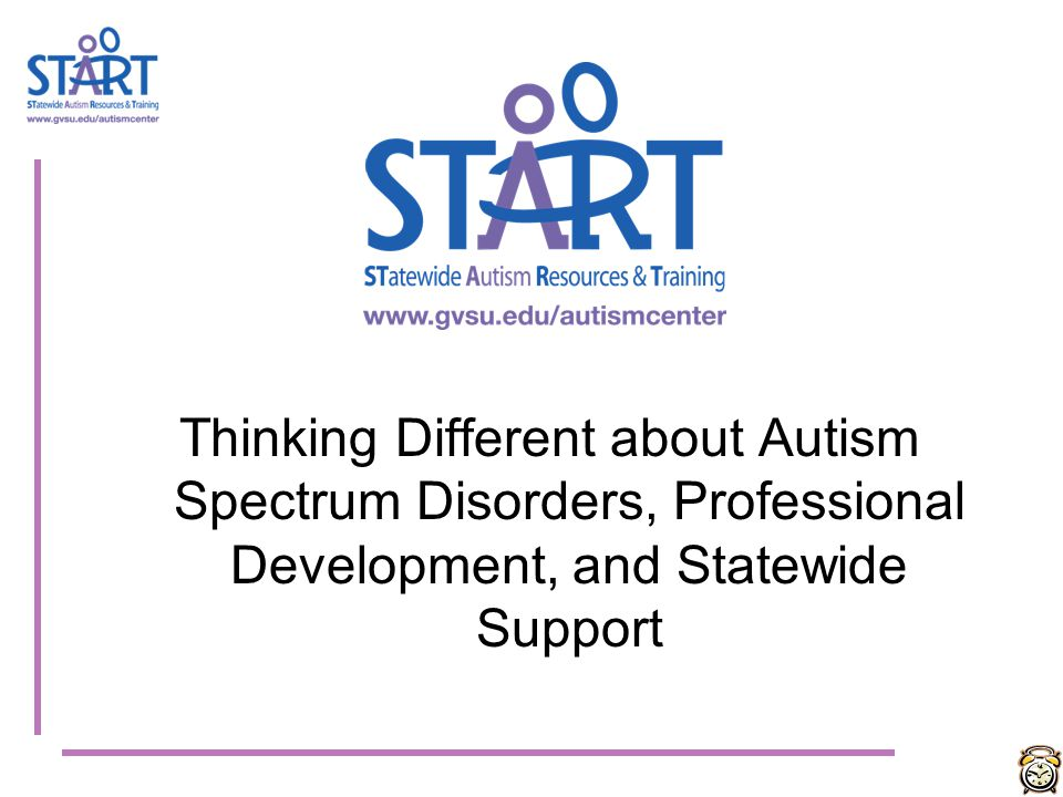 Thinking Different about Autism Spectrum Disorders, Professional Development, and Statewide Support