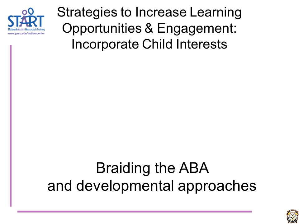 and developmental approaches