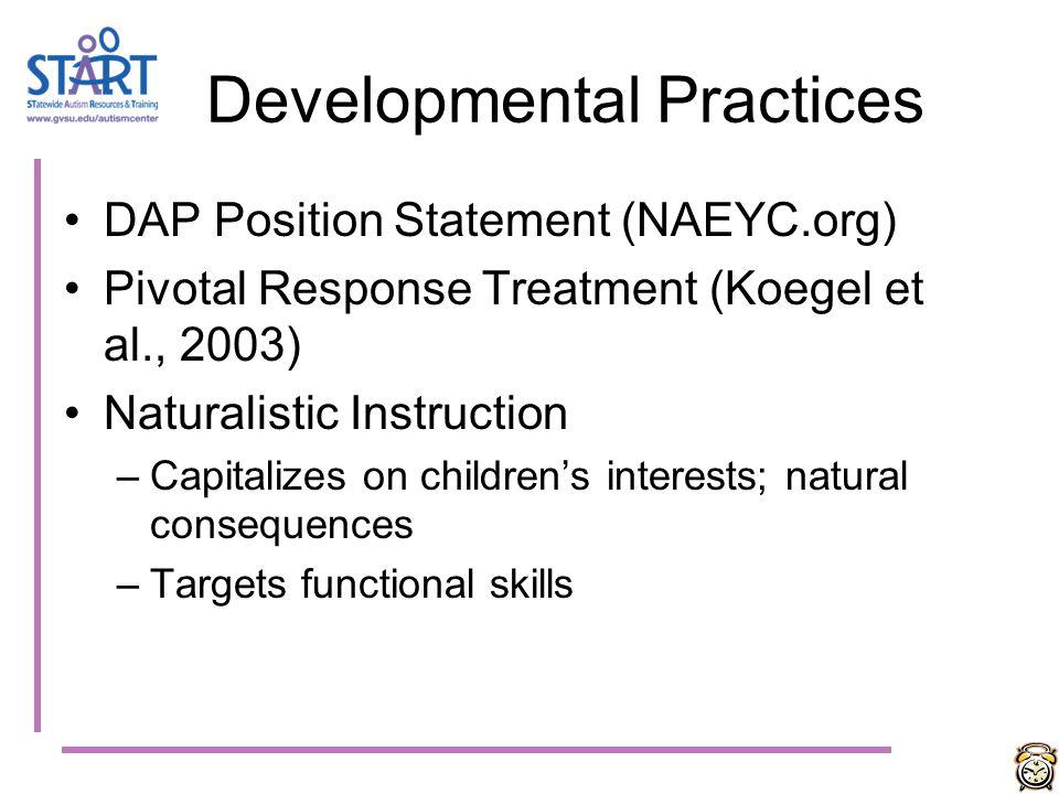 Developmental Practices