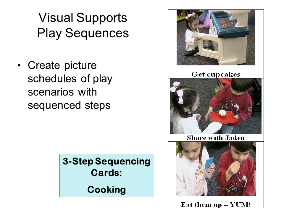 Visual Supports Play Sequences