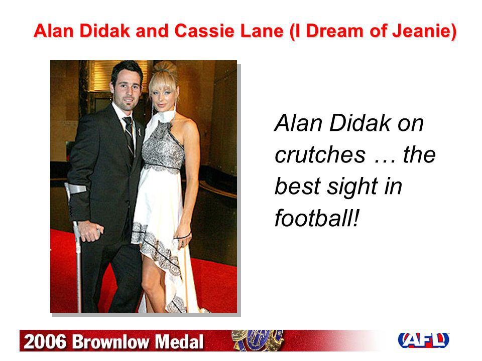 Alan Didak and Cassie Lane (I Dream of Jeanie)