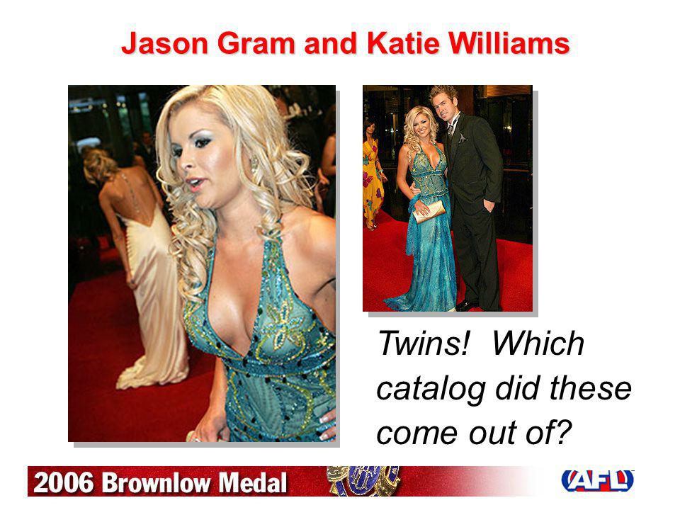 Jason Gram and Katie Williams