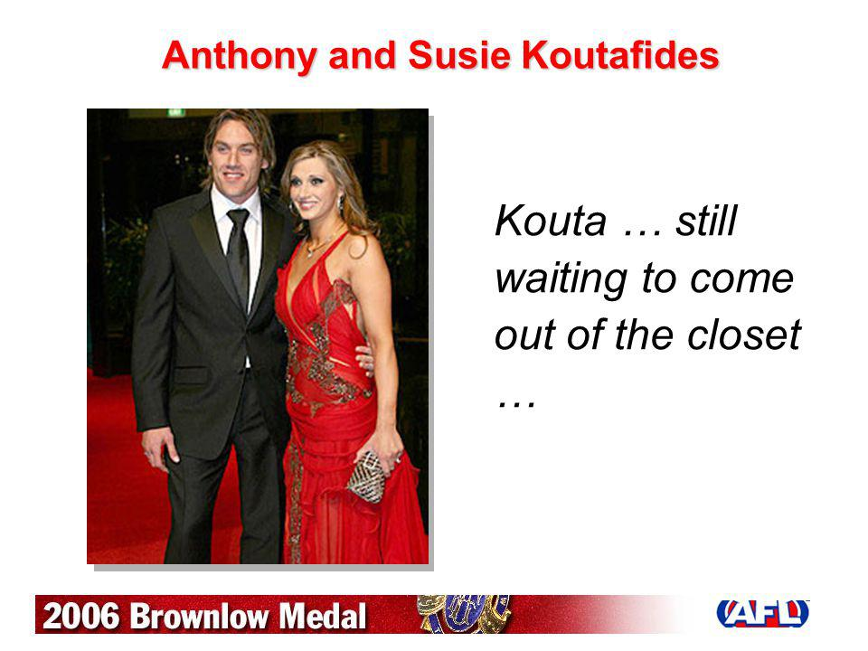 Anthony and Susie Koutafides