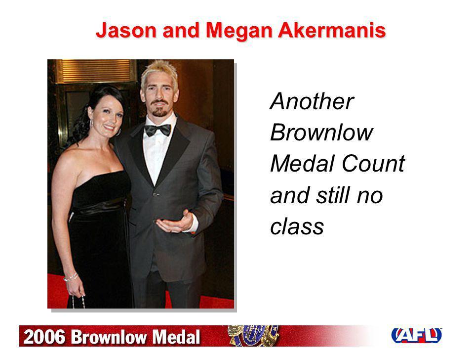 Jason and Megan Akermanis