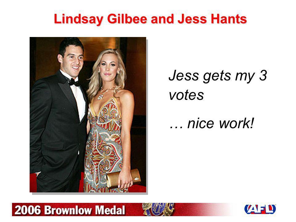 Lindsay Gilbee and Jess Hants