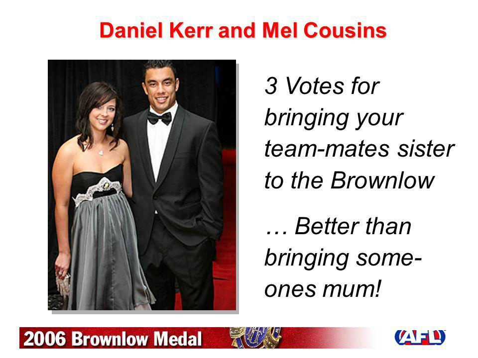 Daniel Kerr and Mel Cousins