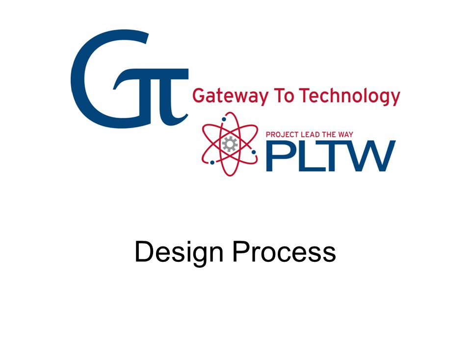 Design Process Design Process Gateway To Technology®