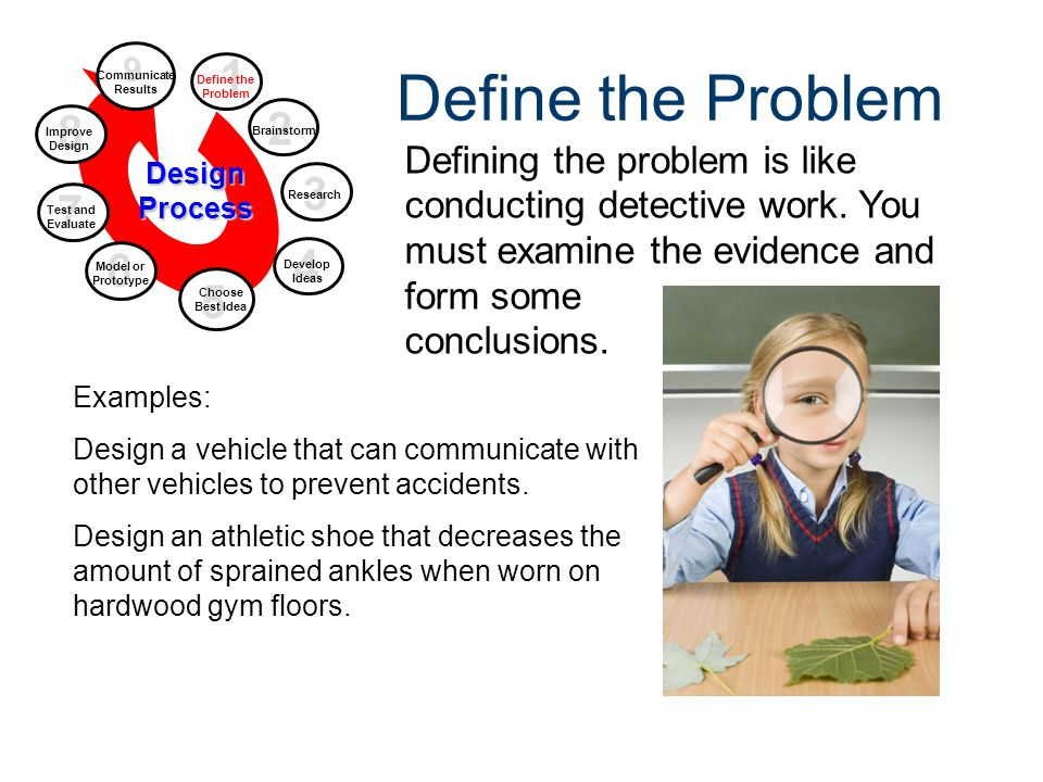 Design Process Gateway To Technology® Unit 1 – Lesson 1.2 – Design Process. Define the Problem. 9.
