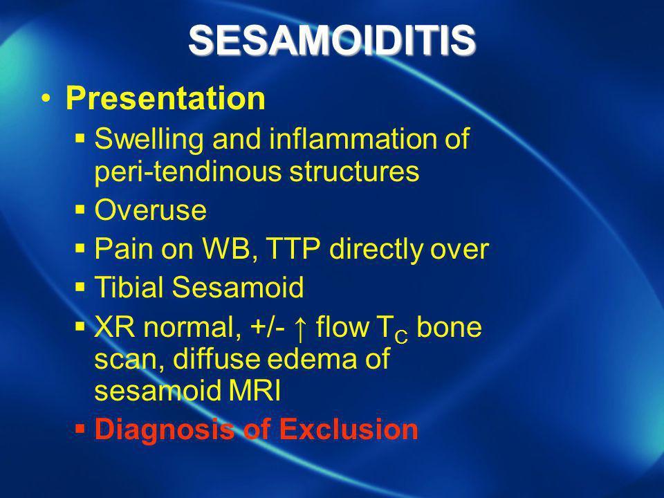SESAMOIDITIS Presentation