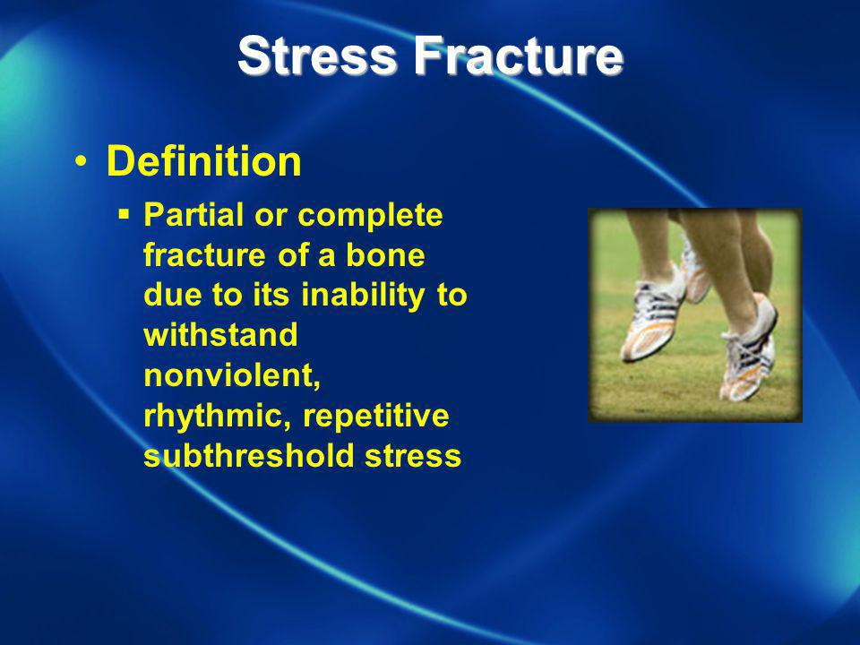 Stress Fracture Definition